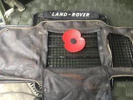 Land Rover series 3 grill