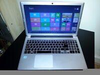 Acer v5-571 Intel Core i3 Slim Laptop Backlit White LED Keyboard