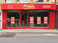 Restaurant Supervisor, Staff and Cashier Needed for Pepe's Piri Piri Cambridge