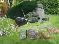 Carp Coarse Fishing job lot Accessories only no reels or rods