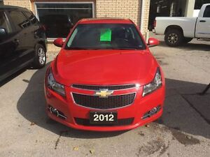 2012 Chevrolet Cruze LT Turbo+ w/1SB London Ontario image 8
