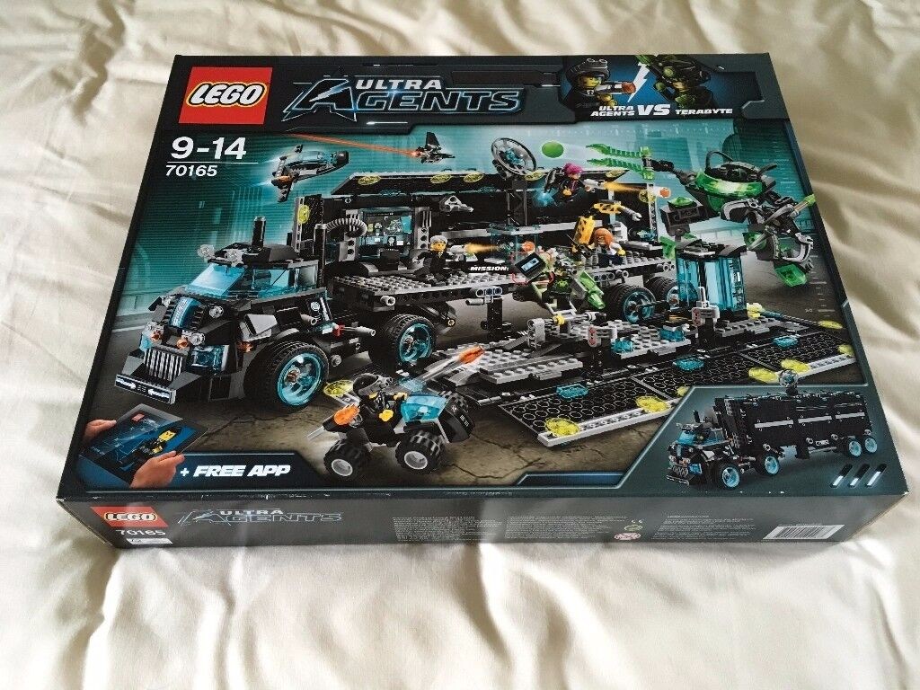 LEGO 70165 Ultra Agents Mission HQ Set (New) - Collect Only