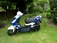 Peugeot Streetfight 3 50cc moped 2014