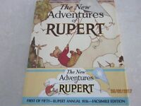 2 collectors editions of Rupert Books