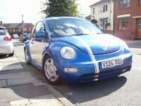 vw beetle 2.0,very very good condition,new t4 forces sale