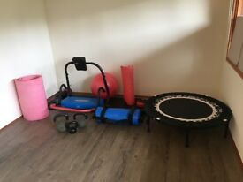 Various Gym equipment in great condition