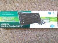 Logitech Wireless Combo MK260 - used