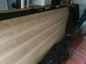 Full stave oak worktops