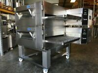 Lincoln Impinger - Lo Profile - ELECTRIC - 32 inch - Conveyor pizza oven - double stack -Model 1633