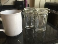 BARGAIN! Spice or Herb clip lock jars x 20