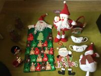 Big Lot of Decoration and items for Christmas Beautiful