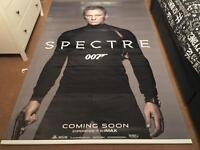Large James Bond banner