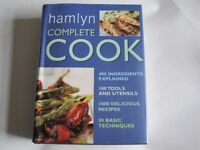 HAMLYN COMPLETE COOKBOOK - 1000 RECIPES, 50 TECHNIQUES, 400 INGREDIENTS, 606 PAGES