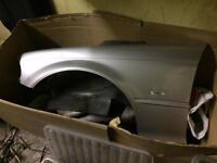 BMW e46 3 series coupe passenger side wing titan silver