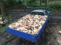 Stock up for winter Barn Stored Seasoned Hardwood Logs/ Firewood all Ash loads
