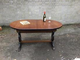 VINTAGE ERCOL STYLE TABLE EXTENDABLE FREE DELIVERY GOOD CONDITION 🇬🇧VINTAGE ENGLISH