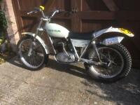 OSSA Mar 250cc 1975 Trials bike