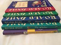 5 ROALD DAHL BOOKS FOR SALE!