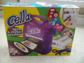 Tomy Cella Magnet and Sticker Maker