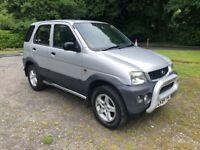 2004 (54) Daihatsu Terios 1.3 petrol SPORT 4x4, 3 keys, Service history