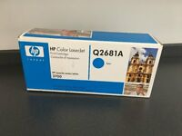 HP Colour Laserjet 3700 series (Q2681A) Cyan Toner Print Cartridge