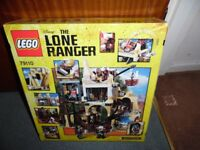 LEGO The Lone Ranger 79110: Silver Mine Shootout Boxed 100% Complete