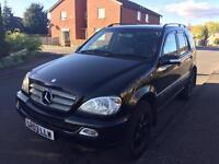 Mercedes ml 270 cdi top spec no faults etc swap big engined luxury car
