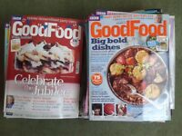 Lot of 40 Issues of BBC Good Food Magazine 2011 to 2012 - NEEDS TO GO ASAP! recipes, baking, cooking
