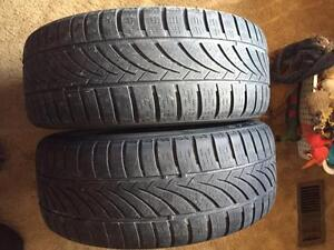 2 - Hankook Optimo All Season Tires with Good Tread - 205/55 R16