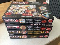 4x Wasgij puzzles