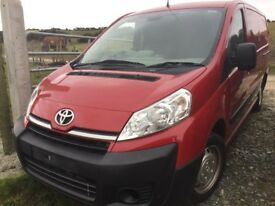 Toyota Pro Ace 1.6 Turbo Diesel 2014 for parts!
