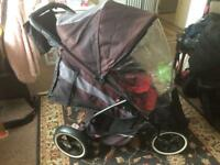 Phil and teds double all terrain pushchair