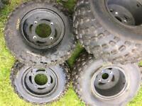 Quadzilla 250 tear drop wheels