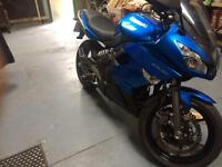 Kawasaki Er6f ,low mileage , immaculate condition