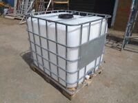 ibc water tank 1000 litre