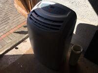 Air Force 12000BTU Portable Air Conditioner/Dehumidifier/Fan/Heater Hose 4in1