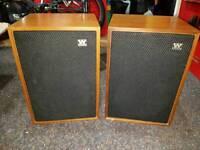Wharfedale vintage denton 3 hifi speakers