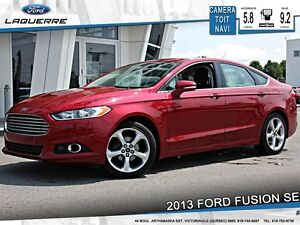 2013 Ford Fusion **SE*TOIT*NAV*CAMERA*CRUISE*A/C**