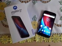 Motorola Moto G4 Plus 16GB SIM-Free Smartphone (Single SIM) - Black Mint Condition