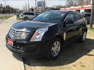 2014 Cadillac SRX LUXURY AWD-NAV-PANO ROOF-CAMERA