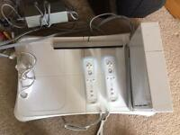 Wii Bundle with 7 games, fit board etc
