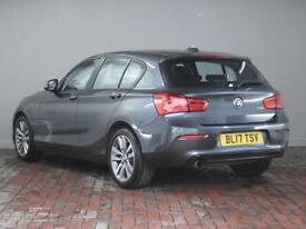 BMW 1 SERIES 118i [1.5] Sport [Sat Nav, Bluetooth] 5dr Step Auto (grey) 2017