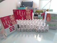 48 Gelish Gel Polish bottles & extras for sale