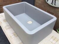 Blanco Ikon - Concrete Coloured Silgranit Sink - Brand New