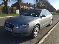 2006 FaceLift AUDI A4 AUTOMATIC only 77k miles All documents, Full service history LongMOT Good Tyre