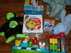 Assorted Kiddies Toys & Teddies....a number of which are sill brand new in box