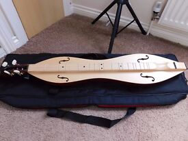 Appalachian Dulcimer with Case, Music & Accessories