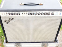 Fender Twin Reverb & Flightcase