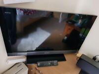 32 inch SONY BRAVIA with Blu-ray player