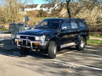 Hilux Surf **MANUAL** RARE black SSR-X, non-sunroof A/C model JDM Import very tidy for age